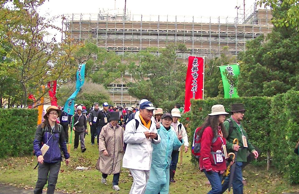 東海道五十三次 どまん中ふくろいウオーク