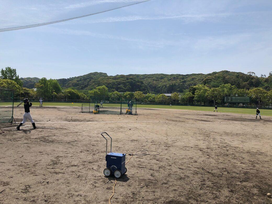 愛野公園野球場8月抽選結果